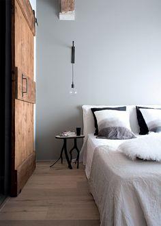 Modern stulpje met stunning bakstenen muur