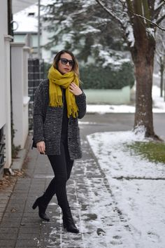 Balkan style by M.: Pop of yellow