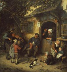 Adriaen van Ostade, Il violinista, 1673  See more at: http://www.tripartadvisor.it/il-mito-della-golden-age-vermeer-rembrandt/
