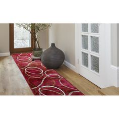You'll love the Nolan Red Area Rug at Wayfair - Great Deals on all Rugs products with Free Shipping on most stuff, even the big stuff.