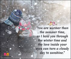 Winter Love Quotes: 15 Quotes That Best Express A Lover's Heart