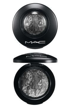 Love the intensity of this sparkly silver MAC eye shadow!