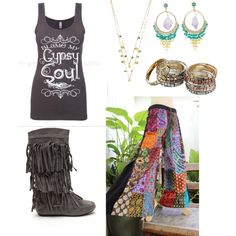 stuff i would rock by siarai on Polyvore featuring polyvore fashion style Gypsy Soul Lana Gypsy SOULE Steve Madden