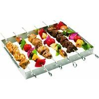 new product a52db 749e2 GrillPro 41338 Stainless Steel Shish Kebab Set Kabobs, Bbq Skewers, Kebabs  On The Grill