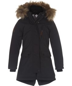 Peace - Almost Black - Functional parka jacket