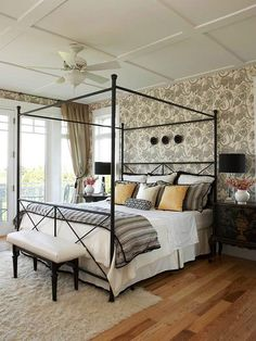 Jennifer Adams Design Tips and Trends: Design Tips: Bedroom Flooring Ideas - Carpet or wood?