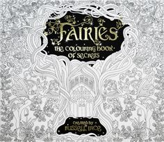 Fairies And Santa Claus Colouring Book Of Secrets By Russell Ince