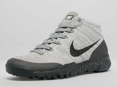 b54fed1d303e Nike Flyknit Trainer Chukka FSB Light Charcoal Dark Grey Nike Acg