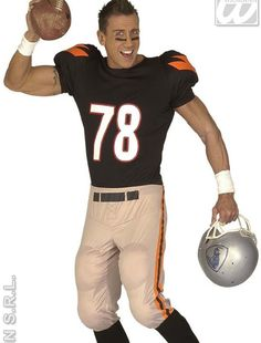 dguisement joueur de football amricain american football player costume - Halloween Costume Football