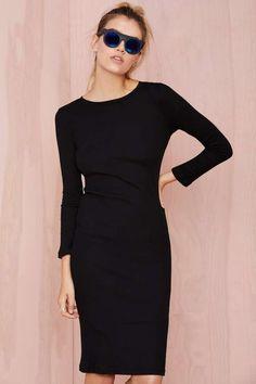 BLQ Basiq Headliner Ribbed Dress | Shop Dresses at Nasty Gal