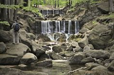 Jizerské hory - Hájený potok Czech Republic, Waterfall, Mountains, Outdoor, Pictures, Photograph Album, Outdoors, Waterfalls, Outdoor Games