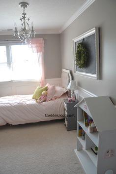 Girls Bedroom Reveal by theidearoom.net