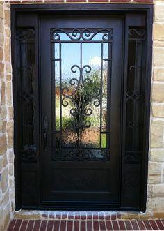 Black Single Front Doors single doors | m2 doors | iron doors | pinterest | beautiful