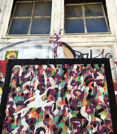 Work by @zokatos #shoreditch #bricklane  #shoreditchstreetart  #streetart  #dsb_graff #be_one_urbanart #tv_streetart #spray #sprayart #urbanart #urbanwalls #streetartuk  #streetarteverywhere  #graffitiart #instagraffiti #ukstreetart #londonstreetart #londonart #lovestreetart #loveART #rsa_graffiti #streetartist #streetartlondon #graffiti_of_our_world #total_urbanart #londonlife #wallporn #pasteup #wheatpaste by spike_ml