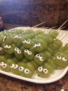 Creepy Heathy Halloween Snack