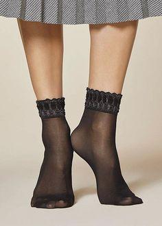 81150603d Fiore Danse 20 Socks Mantyhose Çorap Sheer Socks