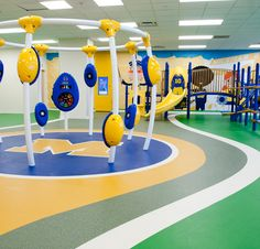 1000 images about rubber floor on pinterest rubber for Cork playground flooring