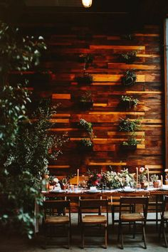 Intimate, Urban Brooklyn Wedding with Lots of Personality ... and Wine - MODwedding