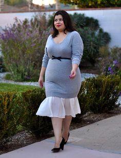 peplum dress | #f21plus