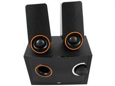 Caixa de Som 2.1 Canais 14W Bluetooth - Sumay SM-CS3129B com as melhores condições você encontra no Magazine Raimundogarcia. Confira!