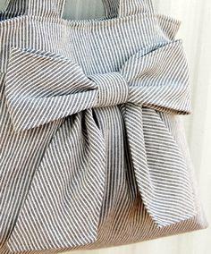DIY INSPIRATION: Bow Bag