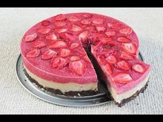 Torta saludable sin horno, crudivegana - YouTube