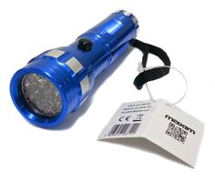 MAXIM 14 LED Blue Aluminium Pocket Torch Camping Fishing House Use 3 x AAA inc. in Sporting Goods, Camping & Hiking, Lights, Lanterns & Torches | eBay #camping #adventure #gooutside #outdoors #sports #active #activity #equipment #sporting #hiking #cycling #travel #useful #helmets #gloves #compass #torches #escape #HarvardMills #LordOfTheLinens