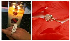 Imperial candle and ring Imperial Candles, Handmade Candles, Uk Shop, Candle Jars, Congratulations, Gold Rings, Wax, Diamonds, Beautiful