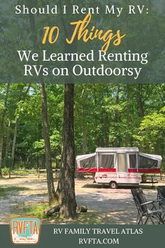 Have you ever wondered? Should you rent your RV? Check out our experience here in this article and how it was renting out our pop-up camper.  #rvrentals #outdoorsy #rentmyrv #rvtravel