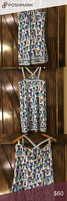 BCBG Max Azria Dress EUC casual and light weight dress Polyester Machine Washable Perfect for hot summer days! Size Medium BCBGMaxAzria Dresses