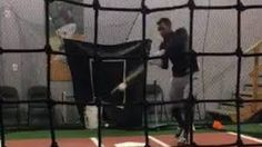 White Sox prospect accidentally rips a line drive right into his cell phone
