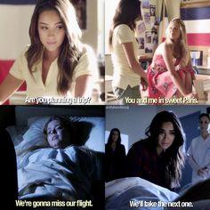 Season 3 Episode 18/Season 7 Episode 2: Emily and Alison