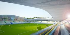 New Football Stadium of FC Bate in Belarus – Interior Design, Design News and Architecture Trends