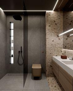 Location: Warsaw, PolandStatus: in progresswww. Hotel Bathroom Design, Washroom Design, Toilet Design, Bathroom Layout, Modern Bathroom Design, Small Bathroom, Hotel Bathrooms, Bathroom Black, Bathroom Ideas