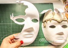 como hacer mascaras veneciamas