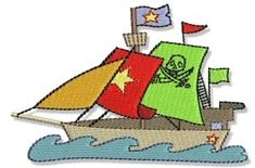 Little Pirate Ship 4x4