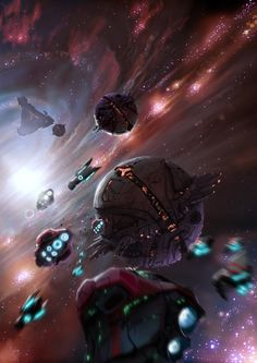 space fleet via @missmetaverse www.futuristmm.com