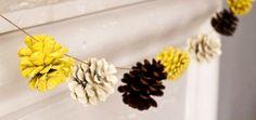 Ideas para hacer manualidades con piñas