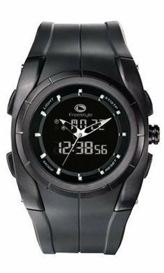 Freestyle Men's FS78601 Cortez Polyurethane Watch Freestyle. $49.99. Stainless-steel case; Black dial. Case diameter: 48.7 mm. Water-resistant to 330 feet (100 M). Quartz movement. Glass crystal. Save 50% Off!