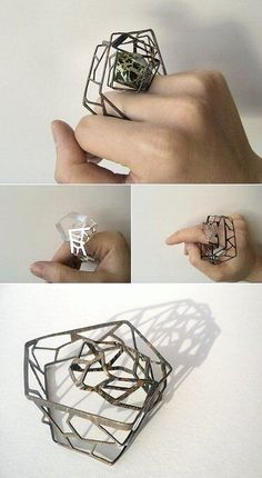 http://TheCarrotbox.com modern jewellery blog : obsessed with rings // feed your fingers!: Fiona Hau / Ralph Masri