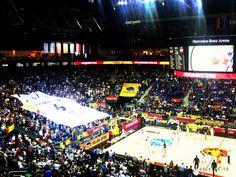 germany vs Spain Mercedes Benz Arena EuroBasket 2015