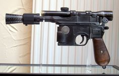 My favourite piece of trivia; Han Solo's blaster is the same gun prop used in 'The Maltese Falcon' :-)