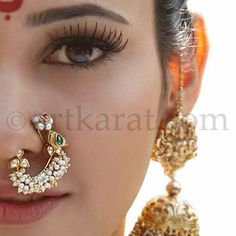 Nath (nose ring) by Artkarat