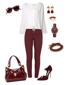 """""""Look casual Chick #90"""" by ccarmemlucia on Polyvore featuring moda, Brian Atwood, Elizabeth and James, Paige Denim, Chan Luu, Lacoste, Aspinal of London, Valentin Magro e Palm Beach Jewelry"""