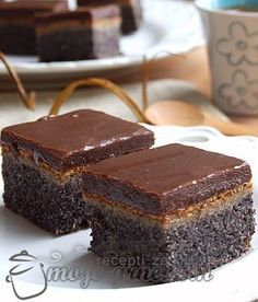 Poppy Seed Cake Chocolate
