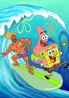 Sponge Bob Square Pants TV Series 2009- Jack Kahuna Laguna