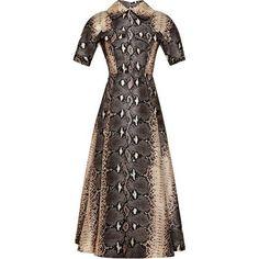 Emilia Wickstead Fall 2014 E Dress as seen on Jessica Biel
