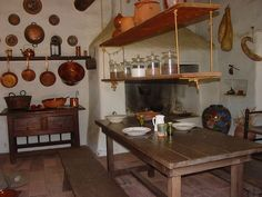 farmhouse kitchen cabinets   old built-in cabinets from a