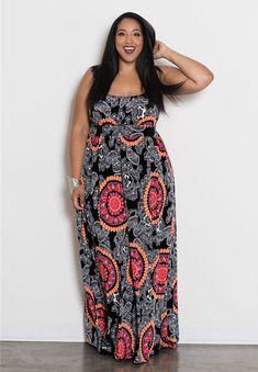 Marissa Maxi Dress $69.90 by SWAK Designs #swakdesigns #PlusSize #Curvy