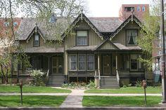 Frances Willard House in Evanston, Illinois.